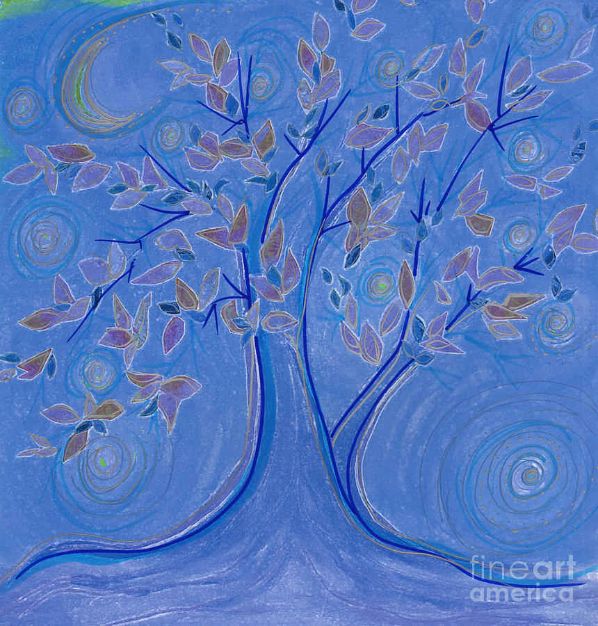 Dreaming Tree By Jrr Drawing