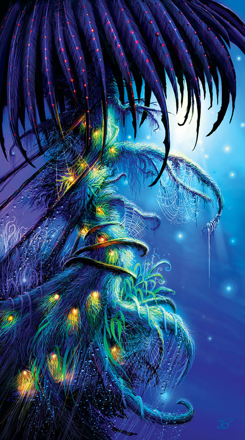 Dreaming Tree Painting  - Dreaming Tree Fine Art Print