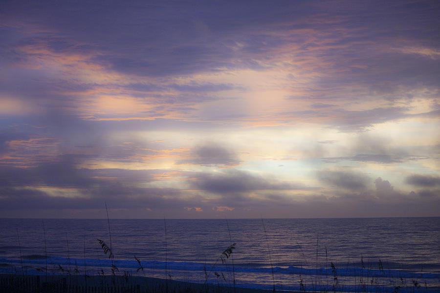 Dreamy Blue Atlantic Sunrise Photograph