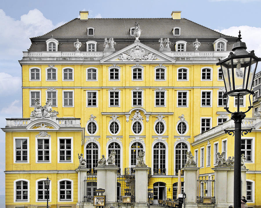 Taschenbergpalais Photograph - Dresden Taschenberg Palace - Celebrate Love While It Lasts by Christine Till