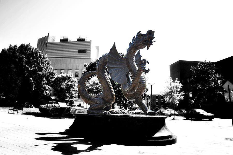 Drexel Dragon Photograph