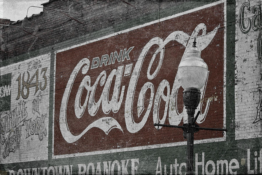 Drink Coca Cola Roanoke Virginia Digital Art