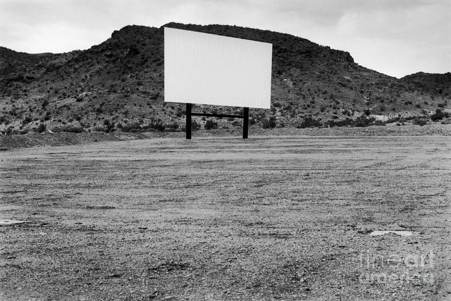 Drive In Movie Theater  Photograph  - Drive In Movie Theater  Fine Art Print