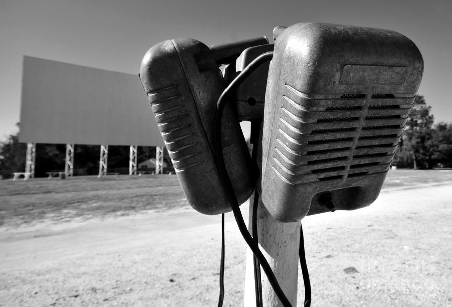 Drive In Speakers Photograph  - Drive In Speakers Fine Art Print