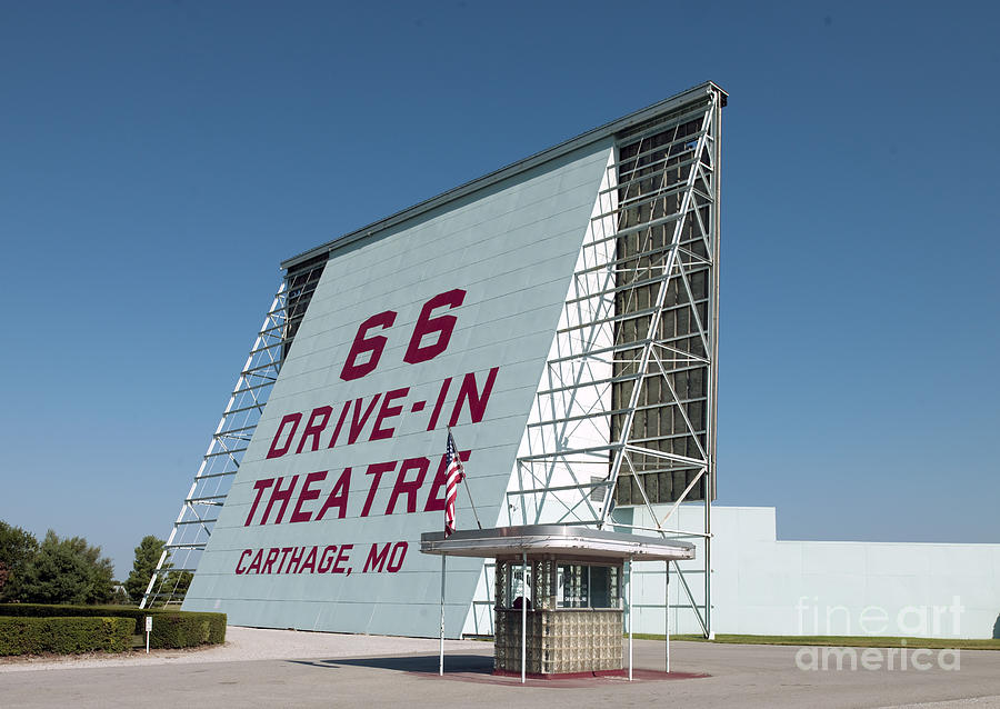 Drive-in Theater, 2009 Photograph