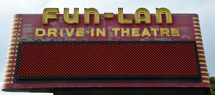 Drive Inn Theatre Photograph  - Drive Inn Theatre Fine Art Print