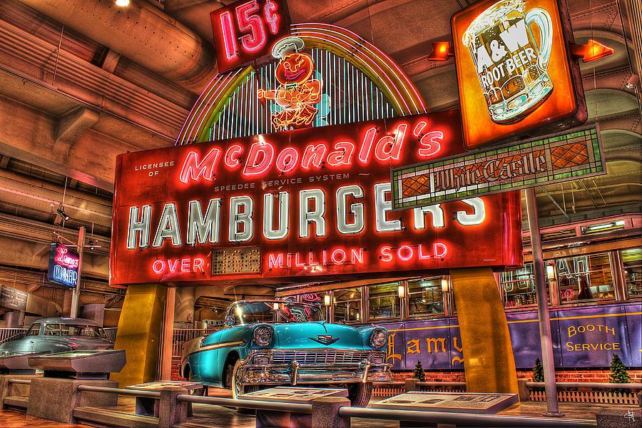 Photograph - Driving America Dearborn Mi by Nicholas  Grunas