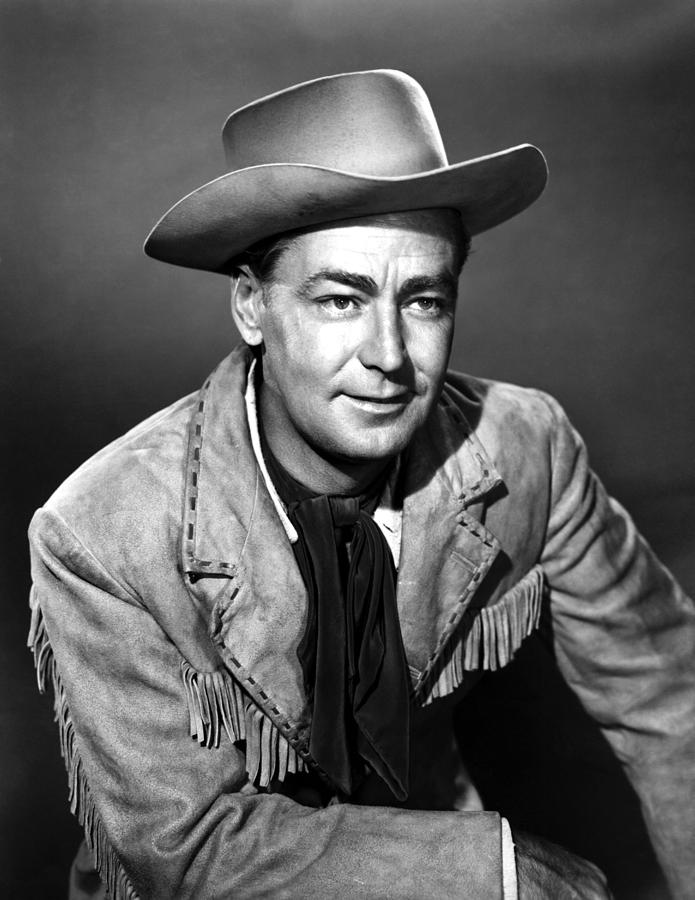 Drum Beat, Alan Ladd, 1954 Photograph