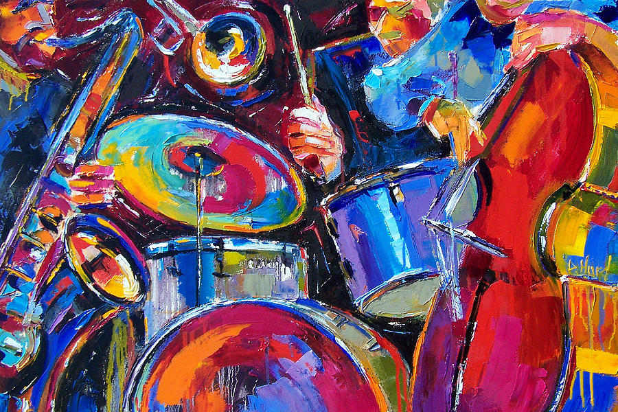 Drums And Friends Painting