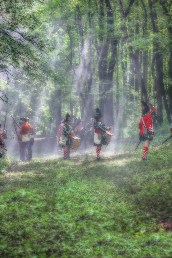 Drums In The Forest Before The Battle Photograph