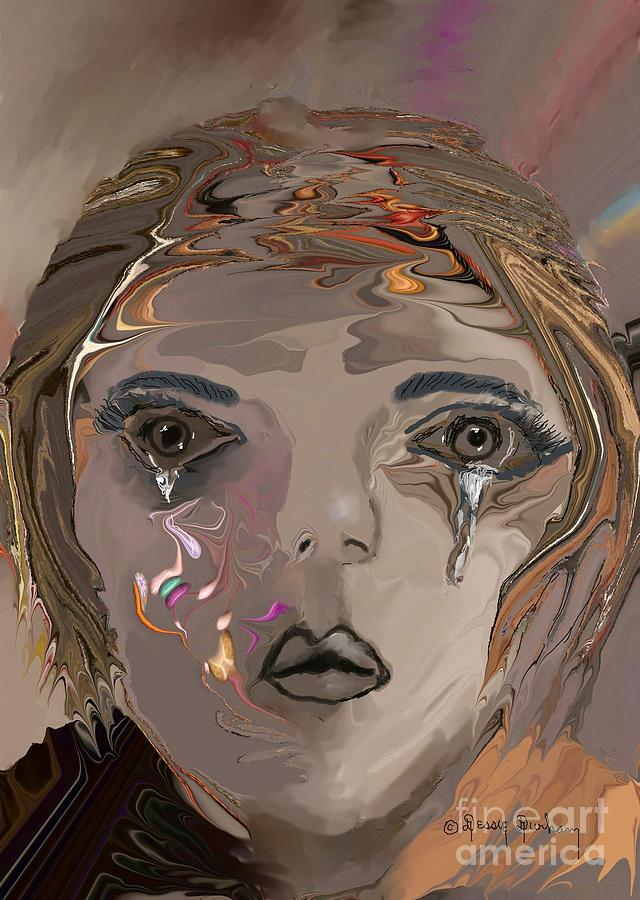 Dry The Tears From My Eyes Digital Art  - Dry The Tears From My Eyes Fine Art Print