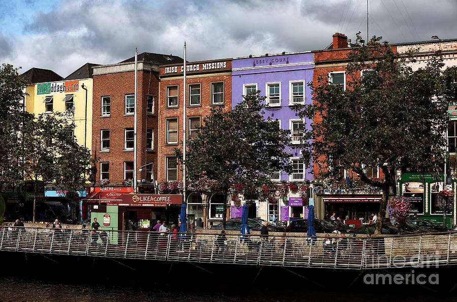 Dublin Building Colors Photograph - Dublin Building Colors by John Rizzuto
