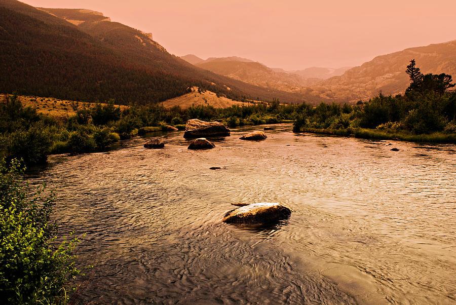 Dubois Sunset Photograph