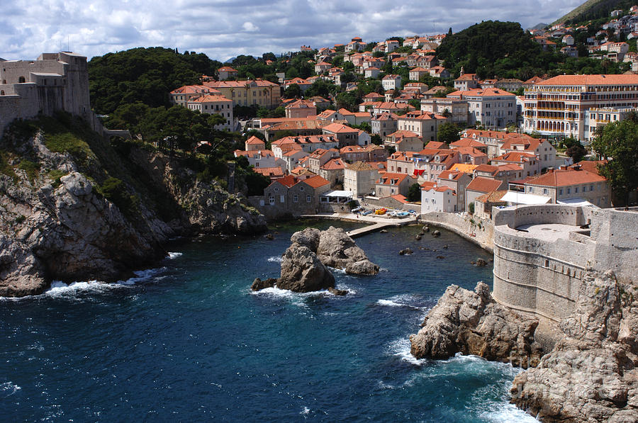 Dubrovnik By The Sea Photograph  - Dubrovnik By The Sea Fine Art Print