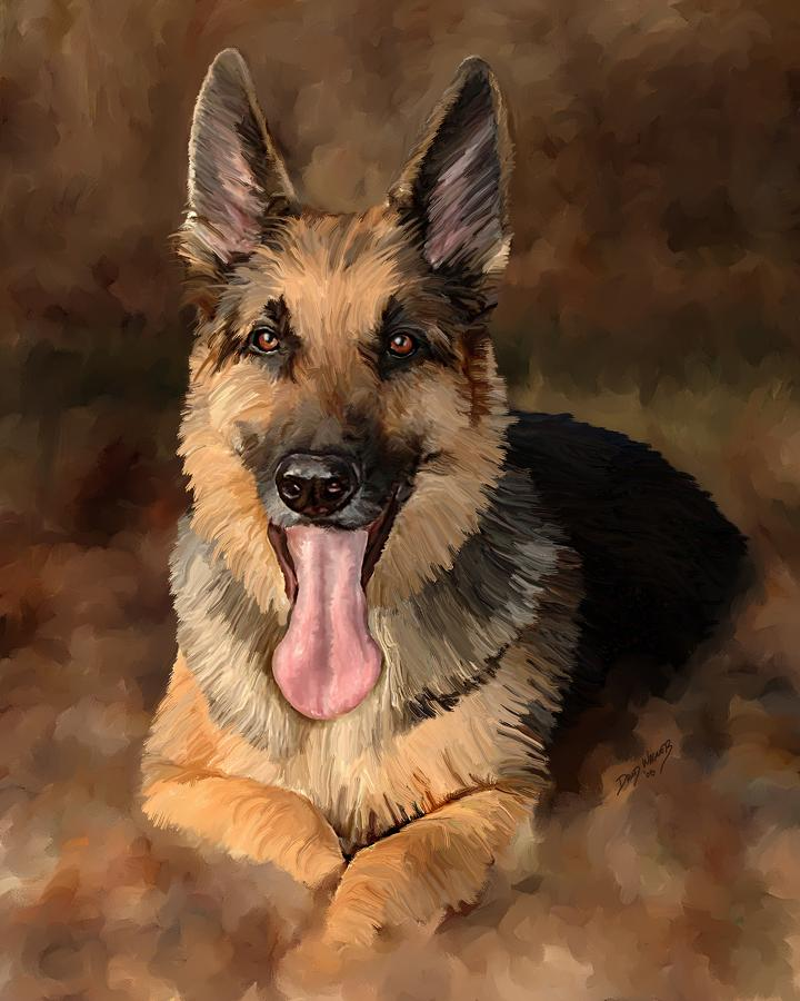 Duke Painting  - Duke Fine Art Print