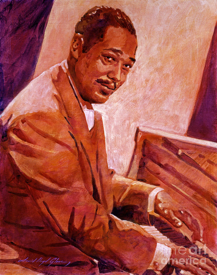 Duke Ellington Painting  - Duke Ellington Fine Art Print
