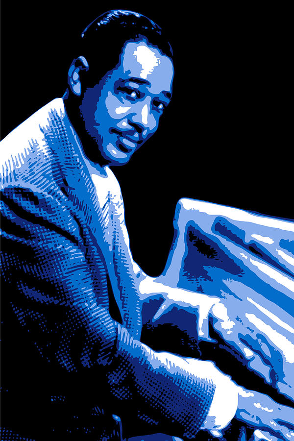 Duke Ellington Digital Art  - Duke Ellington Fine Art Print