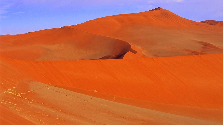 Horizontal Photograph - Dunes by Len Combrinck