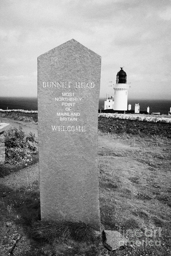 Dunnet Head Most Northerly Point Of Mainland Britain Scotland Uk Photograph