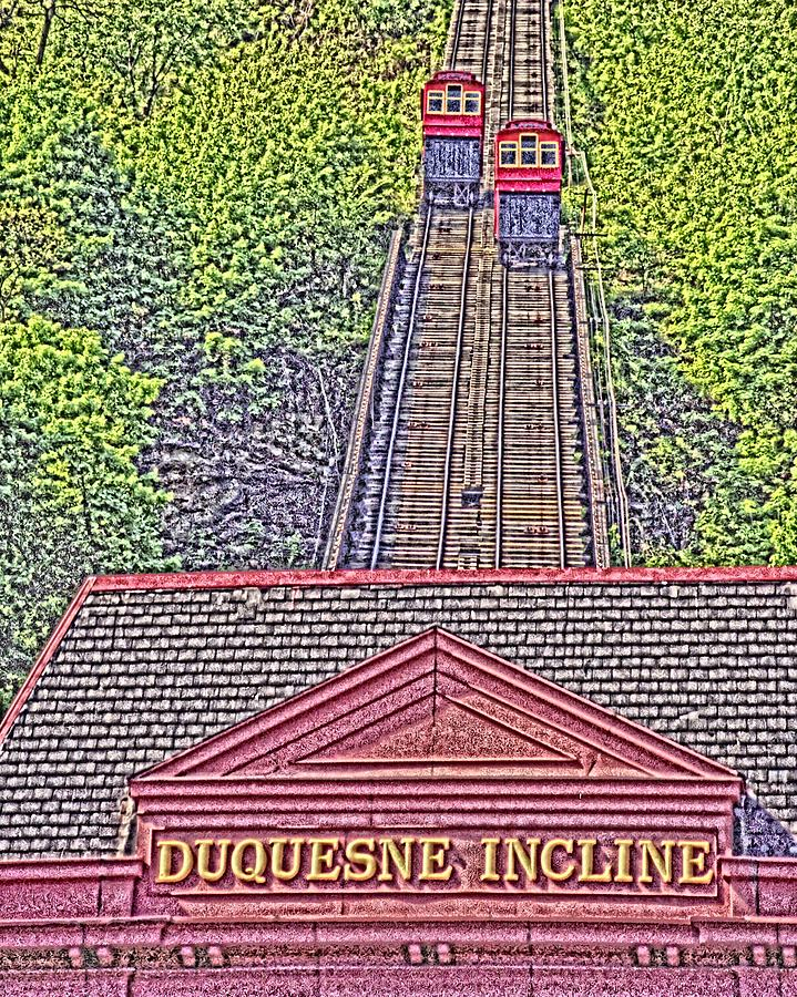 Duquesne Incline Art Photograph  - Duquesne Incline Art Fine Art Print