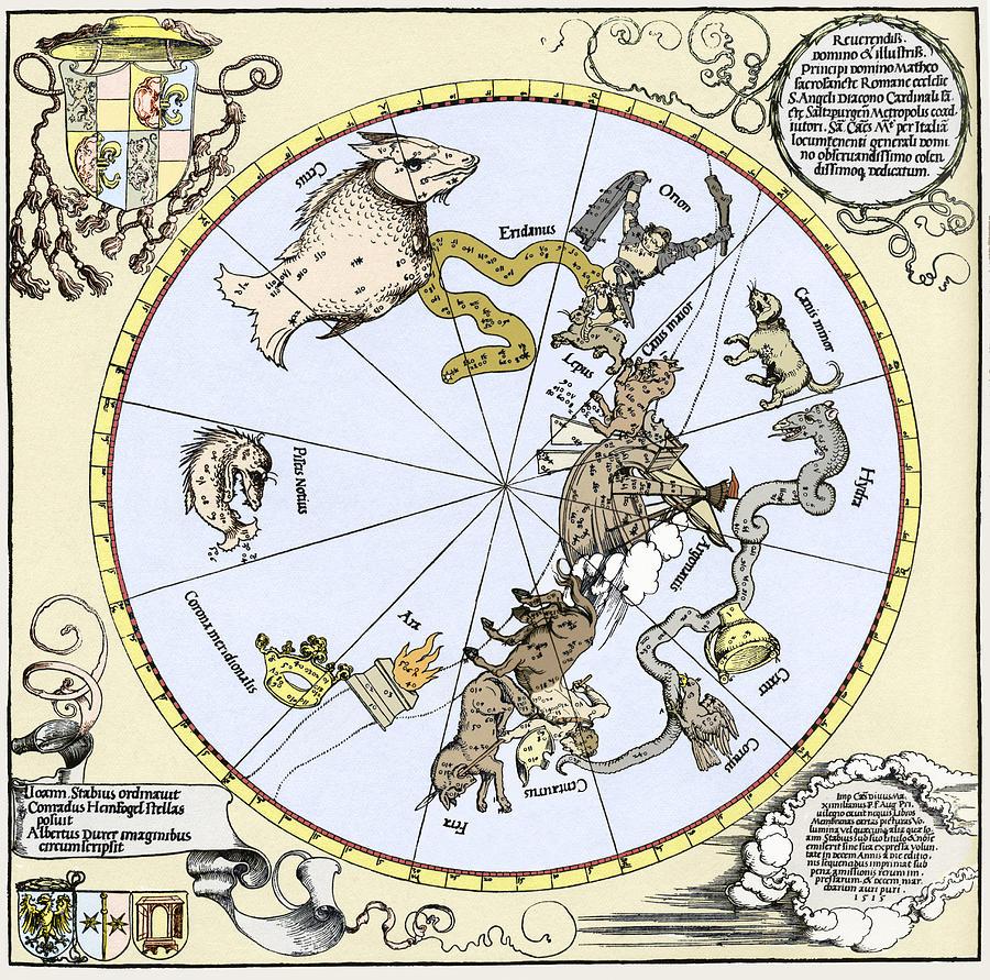 Durers Celestial Globe, 1515 Photograph