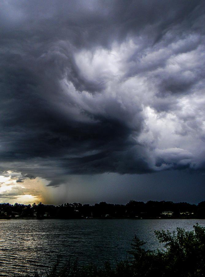 Storm Photograph - Dusk Drama by Christy Usilton