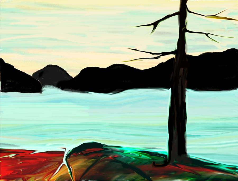 Dusk Digital Art
