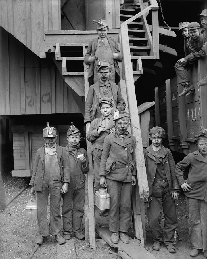 Dust Covered Breaker Boys Photograph