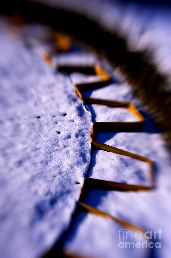 Snow Photograph - Dusty Snow And Geometry Third View by Anca Jugarean