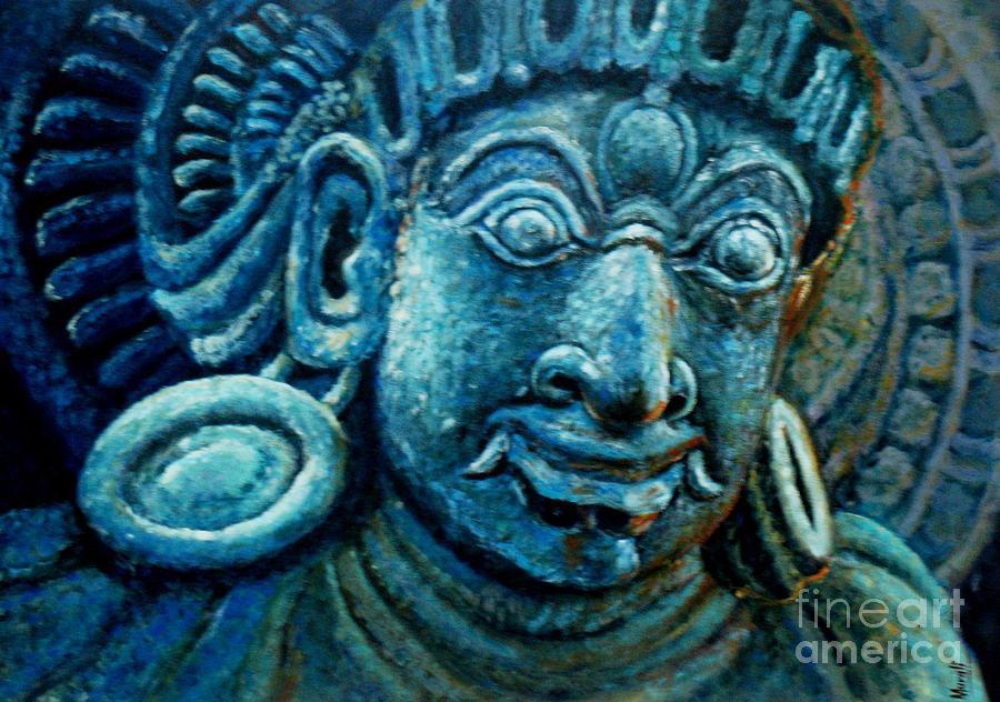 Dwaarapalaka Gatekeeper Painting