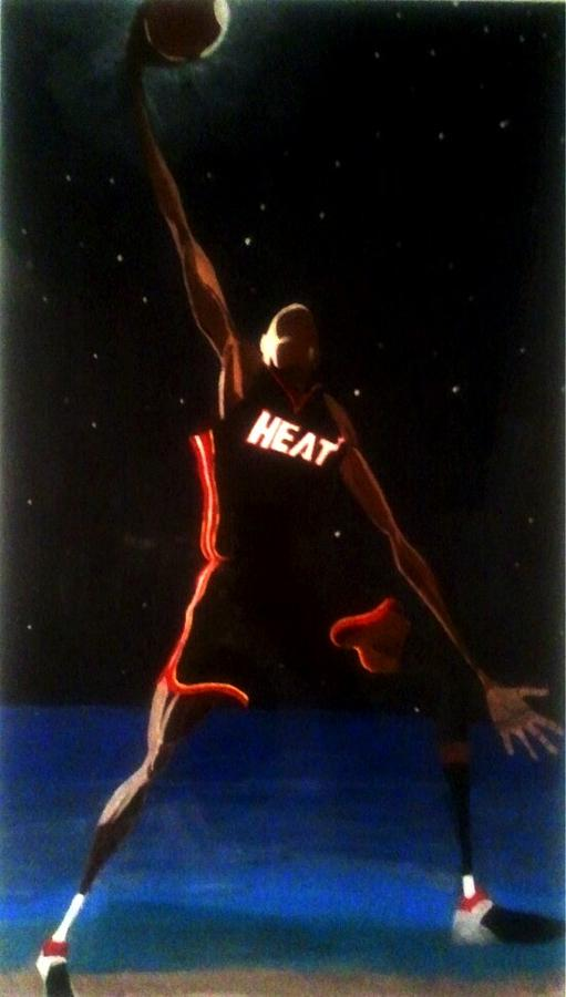 Dwade Eclipse  Painting