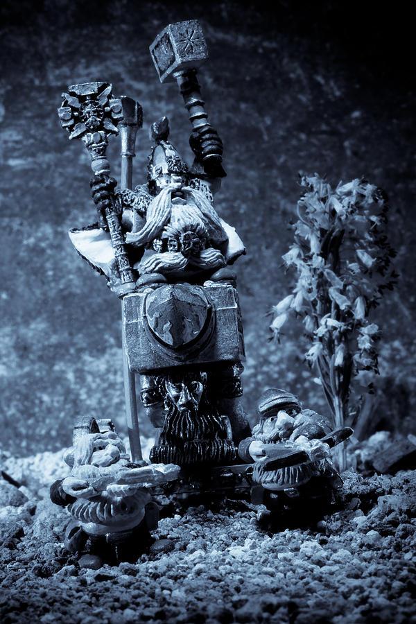 Dwarven Holy Anvil Photograph