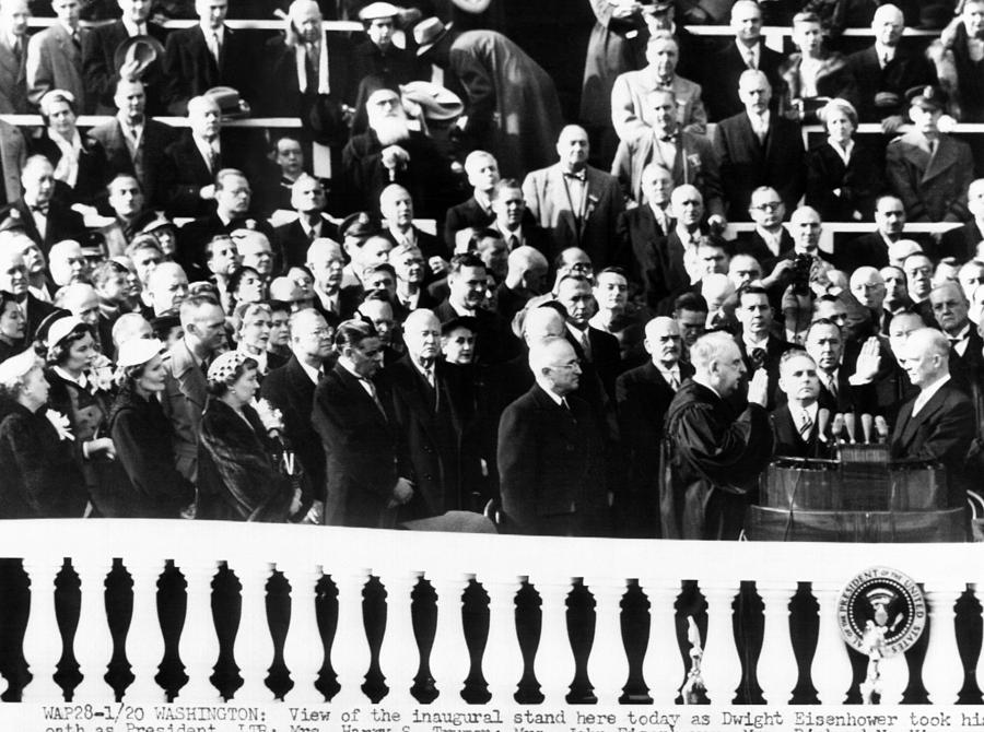 Dwight Eisenhower First Inauguration Photograph