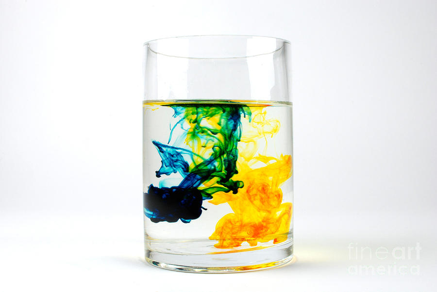 Dye In Water, 5 Of 11 Photograph by Photo Researchers, Inc.