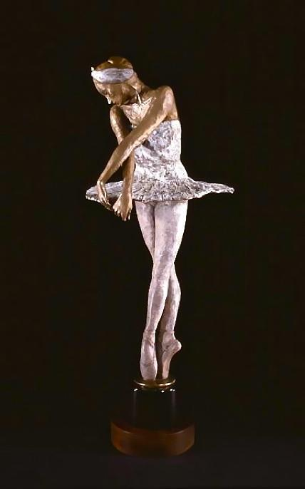 Dying Swan Sculpture