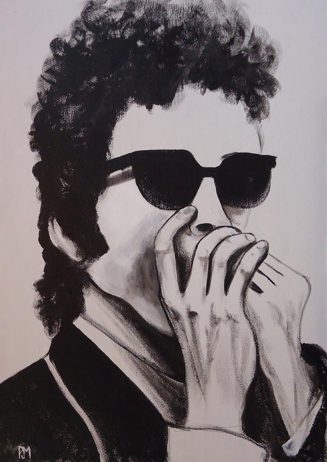 Dylan Painting - Dylan by Pete Maier