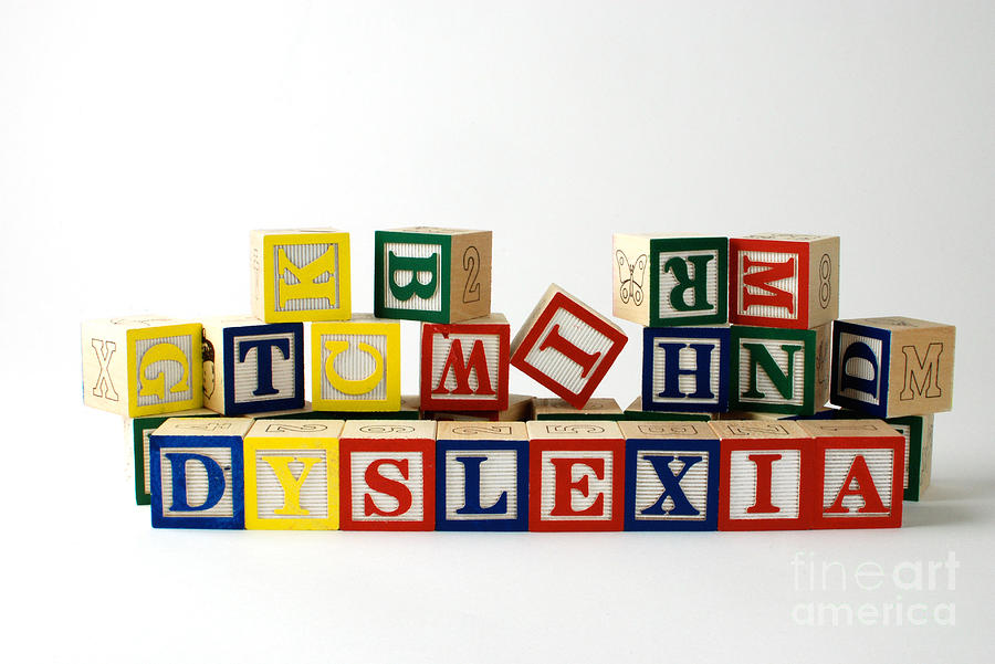 Dyslexia Photograph - Dyslexia by Photo Researchers, Inc.