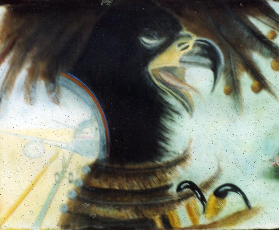 Eagle Icon Pastel