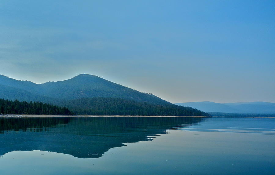 Eagle Lake Blues Photograph