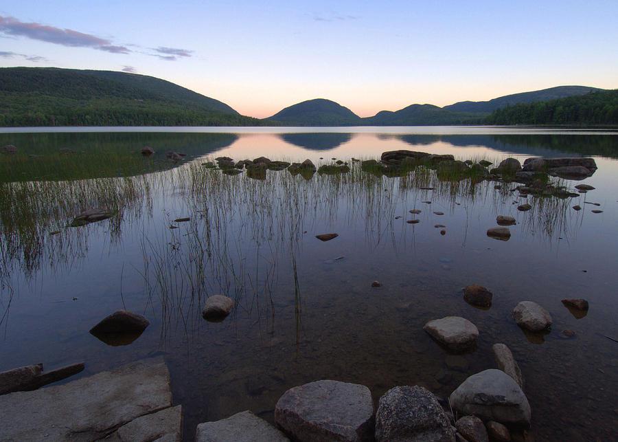 Eagle Lake Dusk Reflections Photograph