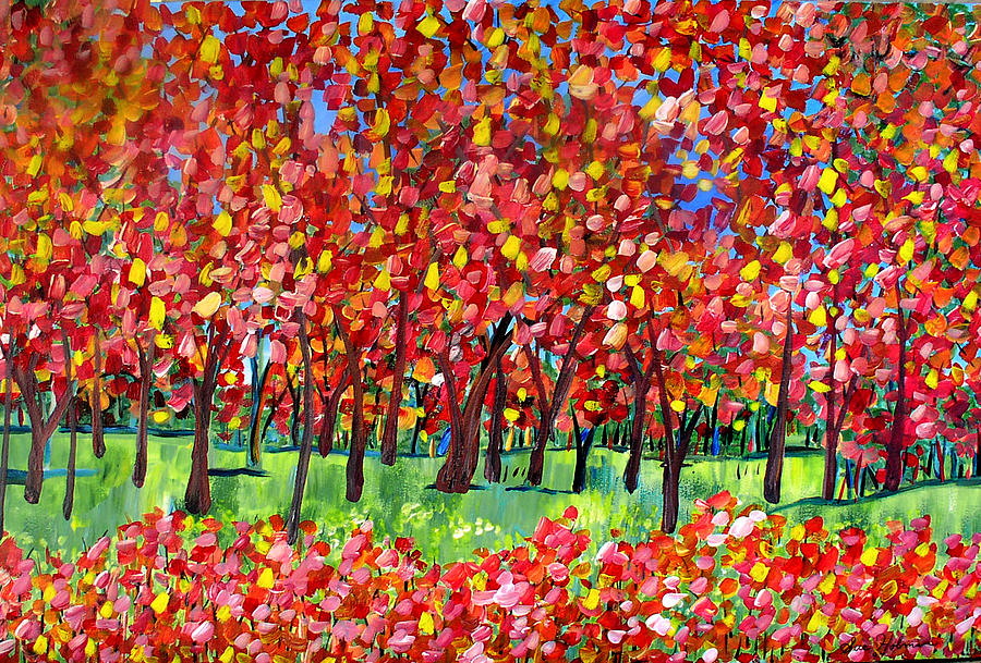 Early Autumn Painting  - Early Autumn Fine Art Print