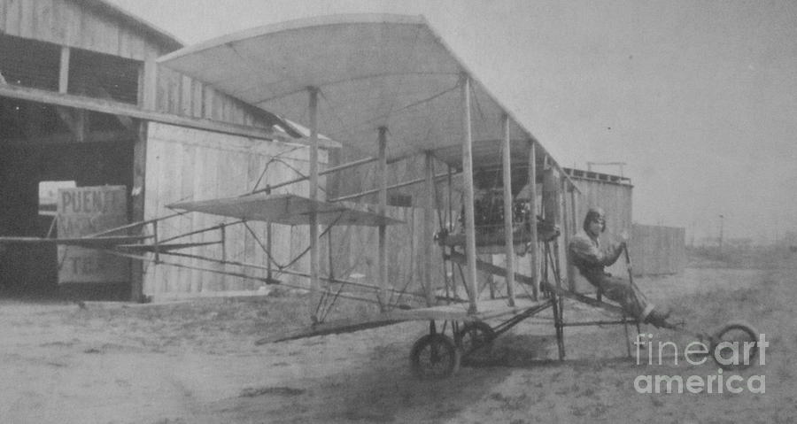 Early Aviation Photograph  - Early Aviation Fine Art Print