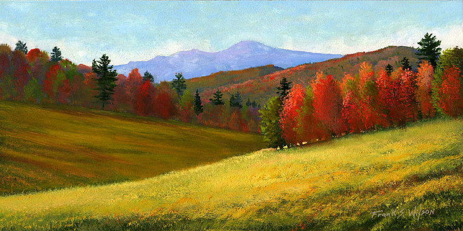 Early October Painting  - Early October Fine Art Print