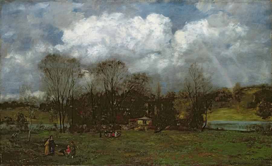 Early Spring Painting