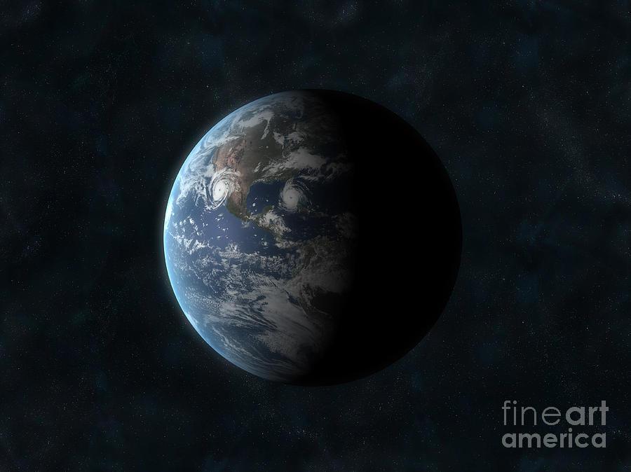 Earth Digital Art