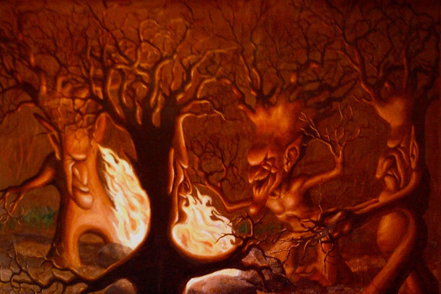 Earth Spirits Painting