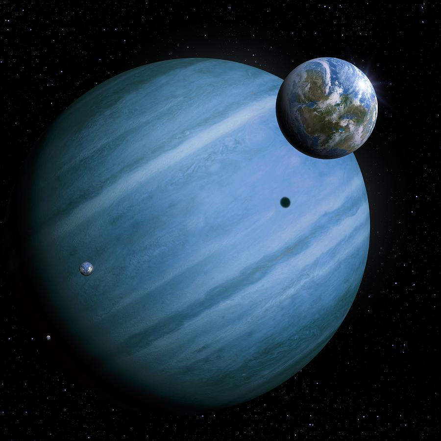 blue giant planet - photo #27
