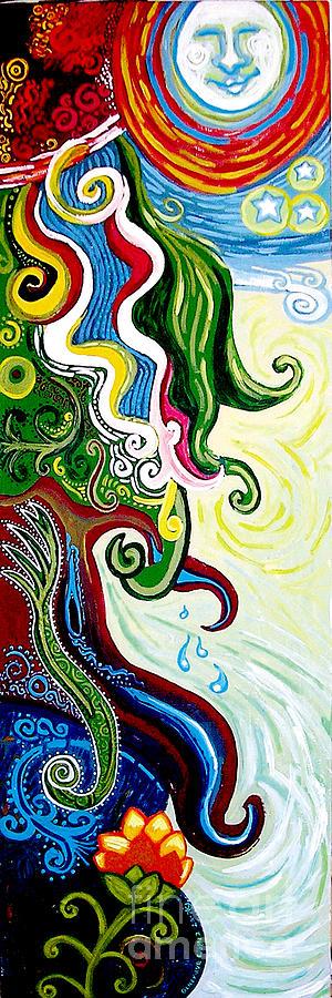 Earths Tears Painting