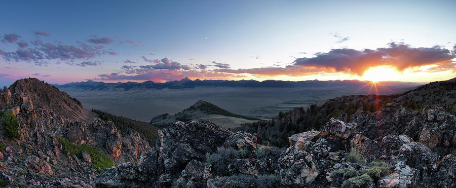 East Central Idaho Sunset Photograph