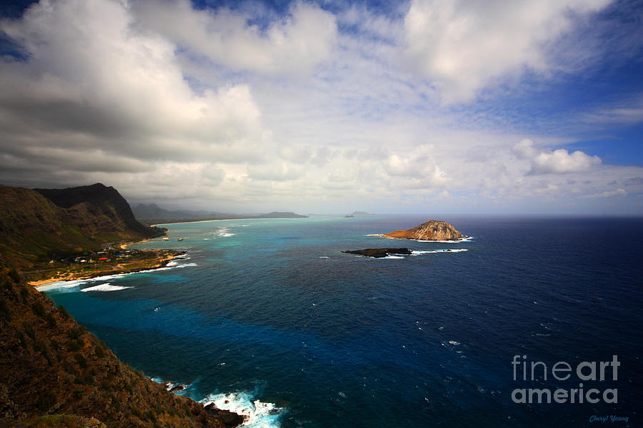 East Oahu Photograph - East Oahu Coastline by Cheryl Young